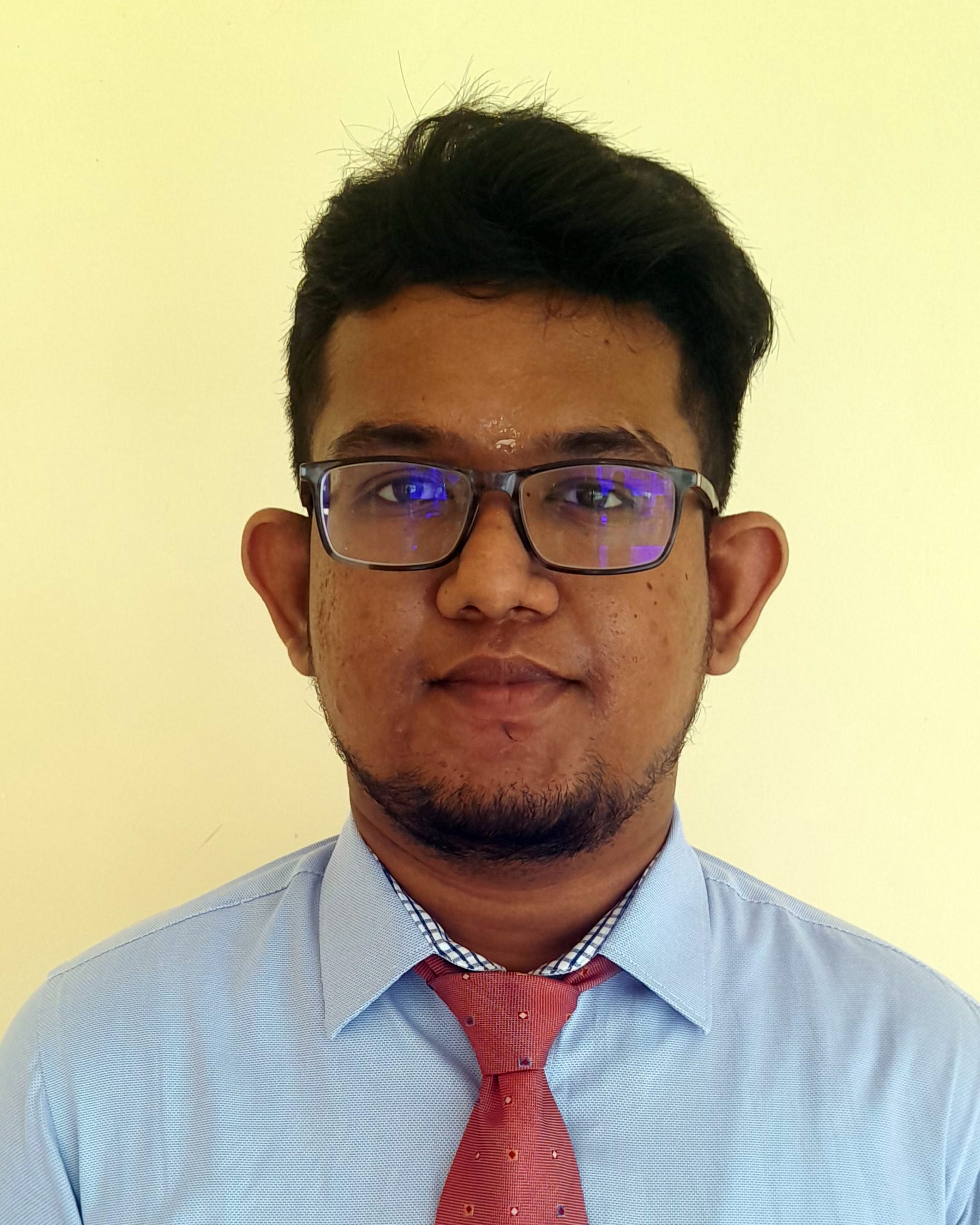 Mr. P. Nitharjan : Temporary Assistant Lecturer